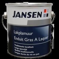 Jansen Lakplamuur Terpentine basis 800gr.