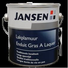 Jansen Lakplamuur Terpentine basis 150gr.