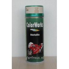 Spuitbus Metallic groen