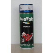 Spuitbus Metallic Blauw