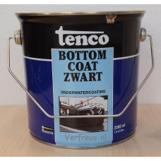 Tenco Bottom Coat Zwart Teervrij 2.5 liter
