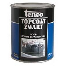 Tenco Topcoat Zwart 2,5 liter