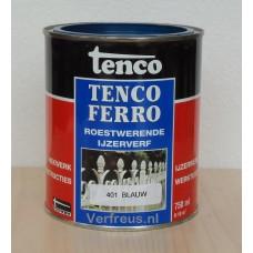Tencoferro roestwerende ijzerverf 0.75 liter
