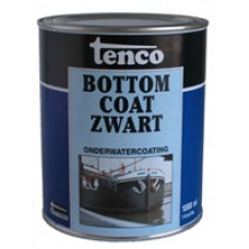 Tenco Bottom Coat Zwart Teervrij 1 liter